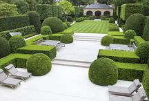 Modern London Gardens / Some of our favourite minimalist garden London retreats.