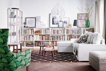 Home Library & Books Inspiration / My first love, my life's earning - books.  How to style, how to protect, how to display my babies, whether doable or wishful!