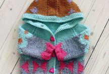 Pletené veci pre deti // knitted things for kids