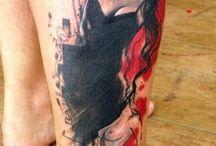 trash-polka tattoo