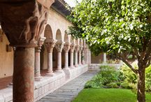 Medieval Cloisters / Haunting evocations of the religious past... www.regina-clarke.com