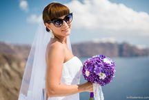 Bridal Bouquet in Greece