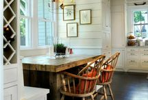 dining spaces / by Cristina Lacefield