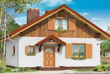 Projekty domów na wąską działkę / W tej kategorii znajdziecie Państwo wszystkie nasze projekty nadające się na wąską działkę , która ma szerokość do 18 metrów ( lub mniej ) . Domy na wąską działkę stanowią dość dużą grupę w naszej ofercie – jest zatem w czym wybierać . Umieściliśmy tutaj domki w różnych stylach i wielkości . Podstawowym parametrem jest szerokość elewacji frontowej budynku . / by MG Projekt | Projekty Domów