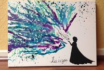 Craft: Crayon art