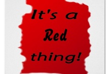 Red inspired / The colour that inspires confidence, strength, joy and creativity!