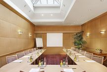 Conference Room & Business Center / The hotel hosts a conference room which accommodates up to 35 people in a theatre style configuration. Located on the ground floor, it includes a glass ceiling which illuminates the room.  Fully equipped with the latest technology (Wi-Fi connection, screen, video projector...), it can be coupled with the hotel's business centre, which transforms into a small meeting room that accommodates up to 6 people.