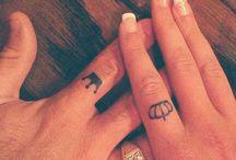 couple tattoo ou tattoo simple