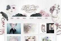 Art Portfolio Layout Ideas / Beautiful art portfolio layout ideas, simple portfolio designs.