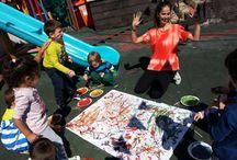 english teaching in kindergarten / by Merve Çınar