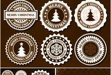 Natale Etichette