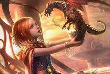 Aliya's mythical creatures