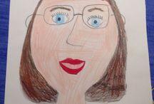 Kunst von Kindern  - elementary art / childrens art / Eigentlich die wahren Künstler: Kunst von Kindern und Malideen für Kinder