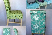 covering chairs