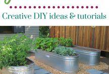 raised food garden design