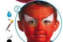 Facepaint ideas for karneval
