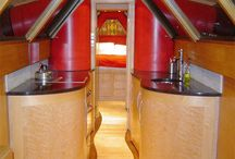 house boat interior