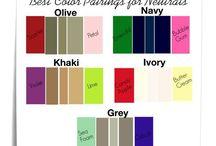 Color wardrobe / Guide to match wardrobe