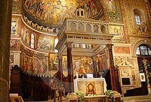 Beautiful Churches in Rome