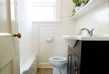 small bathrooms / by Calle Dartnell