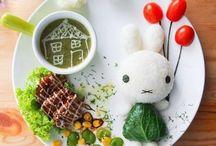 food plate art