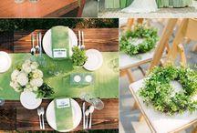 Pantone 2017 - Greenery / Green wedding / Ispirazioni per un matrimonio in verde/ Green wedding ideas