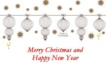 Happy Holidays! / Wishing you health and happiness  this holiday season and in the year to come!