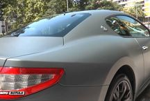 Maserati en Gris Antracita Mate Metalizado - Car Wrapping by Pronto Rotulo / by Pronto Rotulo