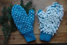 Nice knitted crafts