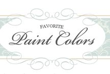 Favourite paint colors