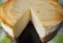 Desserts   flan cheese cake ....