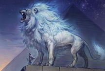 Lion fantastique