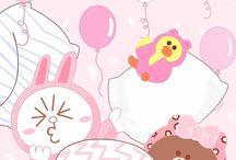 Cute line wallpapers ♡☆♡☆♡☆♡☆