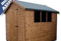 TGB Garden Sheds / A range of TGB apex & pent garden sheds. Popular models include: TGB Standard, TGB Superior, TGB Bentley, TGB Hipex Apex, TGB Heavy Duty, TGB Rhino, TGB Groundsman and Storm-resistant models. Currently, our TGB sheds INCLUDE ASSEMBLY.