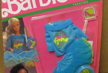 Barbie Fashions in Package and Displayed
