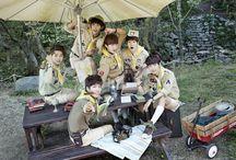 A JAX \(@ ̄∇ ̄@)/ / A JAX consists of Hyeongkon, Hyojun, Jaehyung, Seungjin, Seungyub, Sungmin, and Yunyoung. The debuted in June of 2012. / by You Got No Jams <( ̄︶ ̄)>