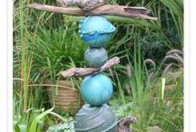 Keramik Stele