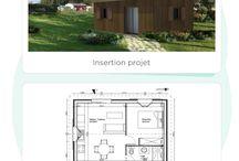 Les permis de construire / Ils avaient des projets de construction, rénovation ou aménagement extérieur. Découvrez-les ainsi que leur permis de construire !  #houseplan #architecture #HouseExtension #inspiration #leroymerlin