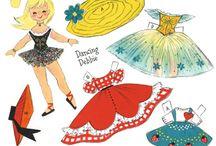 Paper Dolls / by Debra Hutchinson