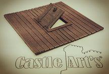 Castle Art's Resin accessory 28mm / Accessori in resina per modellismo scala 28mm Resin accessory for model 28mm