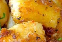 patates roties aux herbes