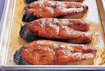 salmon toppings