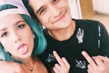 ✨H a l s e y  and __________ ✨ / It's just halsey and friends. ✨