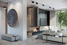 grey room tiles
