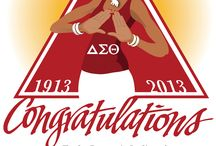 Delta Sigma Theta / Here's a special shout-out to my wonderful wife and all her other sisters of Delta Sigma Theta Sorority, Inc. who celebrated their 100th Year Anniversary on Jan., 13, 2013. KGJ © 2013 / by Kerry G. Johnson Illustrations ...