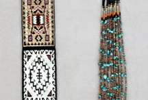 Perlemønstre / Seed bead patterns.
