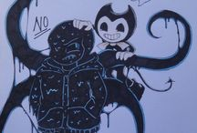 NIghtmare!Sans y Bendy