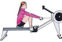 Erg Machine Workouts