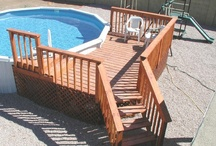 Pool deck ideas / by Laurie Sturgill Riddle