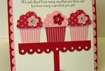Cards - Cupcakes/Treats / by Christine DePol